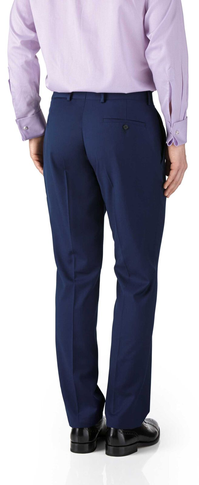Costume business bleu roi en twill slim fit