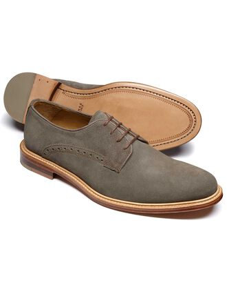 Grey Lambourne Derby shoes