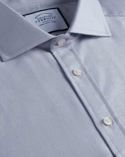 Spread Cotton Stretch With Tencel™ Shirt - Grey