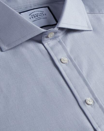 Spread Cotton Stretch With Tencel™ Shirt - Grey