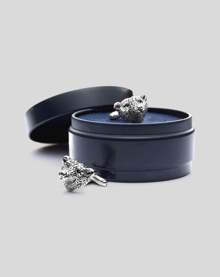 Manschettenknöpfe mit Eisbär-Design