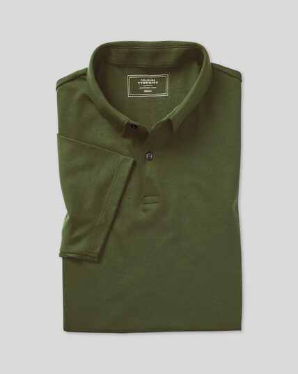 Smart Jersey-Polo - Grün