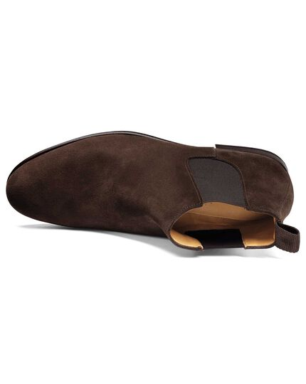 Chelsea Stiefel in Schokoladenbraun