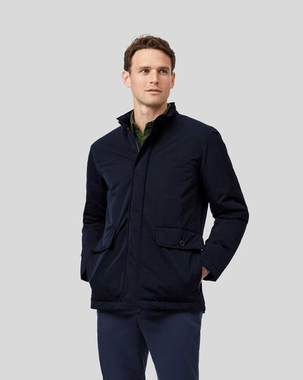Showerproof Field Coat - Navy