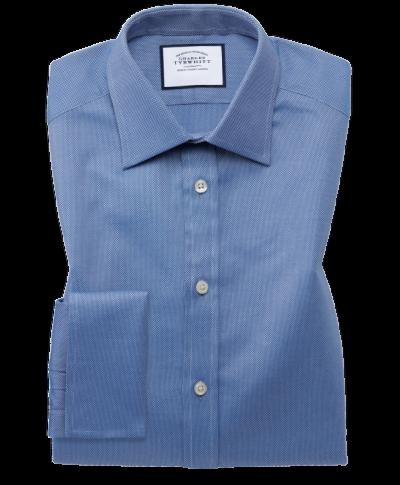 Extra slim fit Egyptian cotton royal Oxford royal shirt