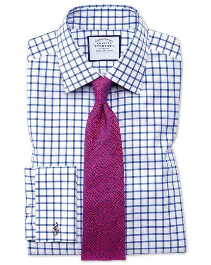 Bright pink silk textured English luxury tie