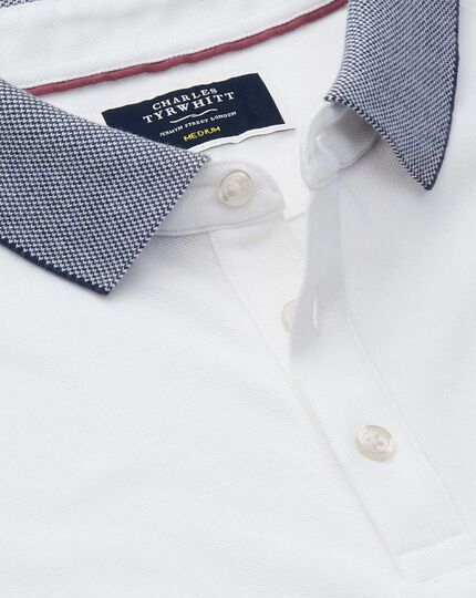 White Oxford Lapwing polo