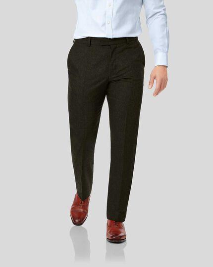 Flannel Pants - Dark Olive