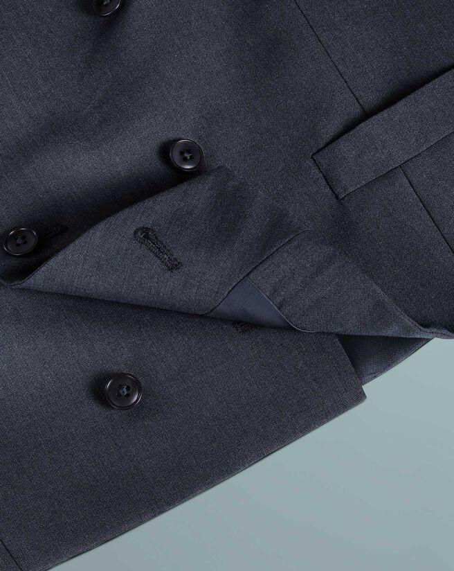 Blue Panama slim fit British suit