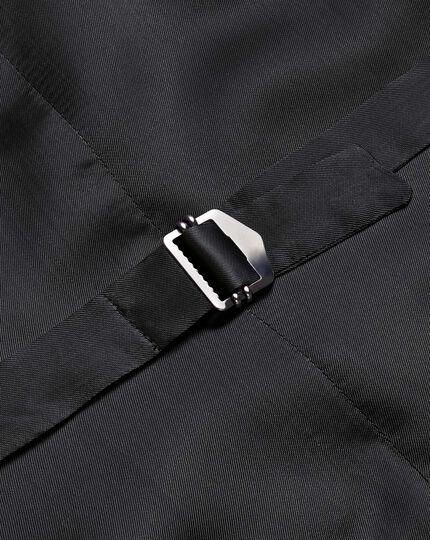 Verstellbare italienische Anzug Weste in Grau