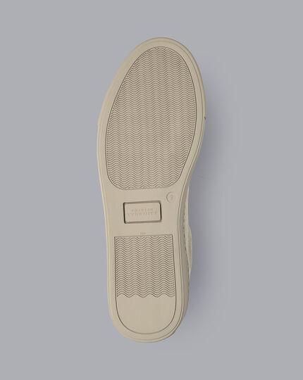 Suede Sneakers - Tan