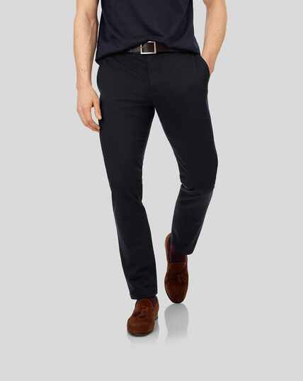 Ultimate Non-Iron Chinos - Navy