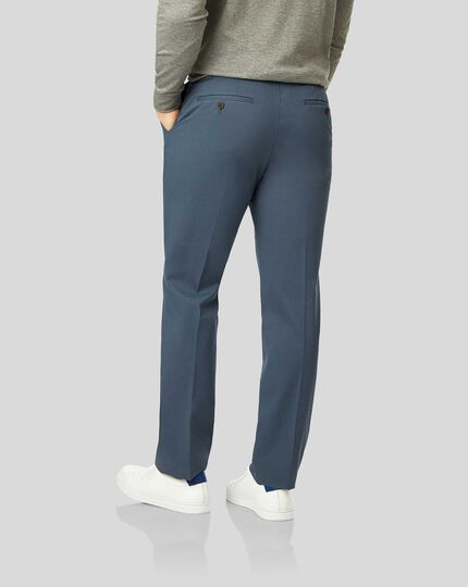 Non-Iron Chinos - Airforce Blue
