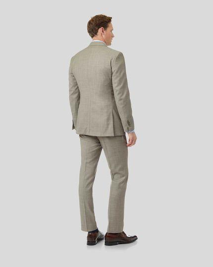 Strukturierter Anzug - Leichtgrau