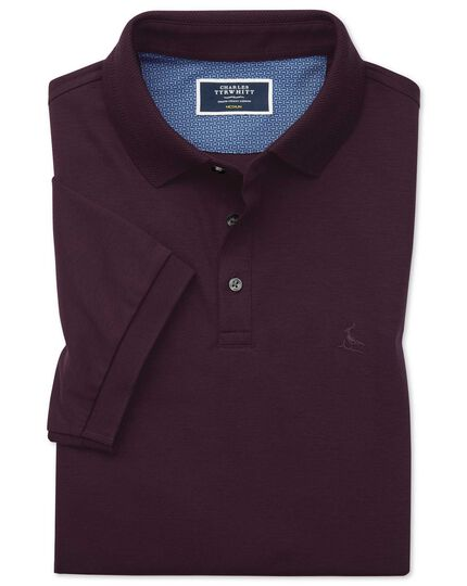 Wine Jersey Lapwing polo