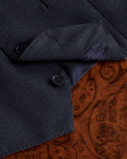 Indigo saxony business suit vest