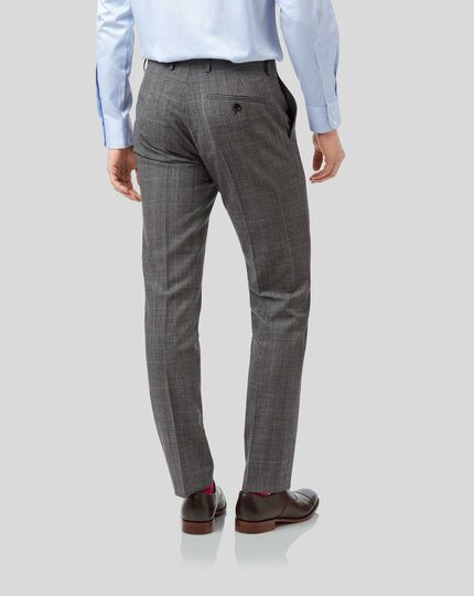 Prince of Wales Check Suit -Grey