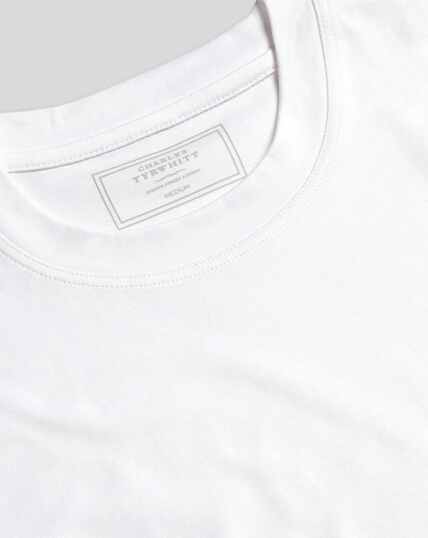 Cotton Tyrwhitt T-Shirt - White