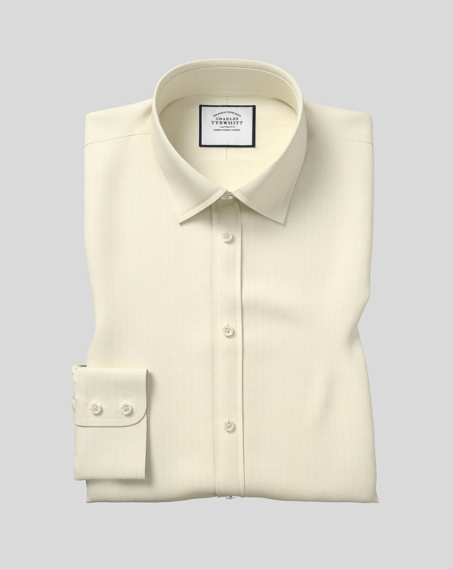 THE BEST IVORY SWEPT WING COLLAR WEDDING SHIRT ON .CO.UK ONLY ALL SIZES