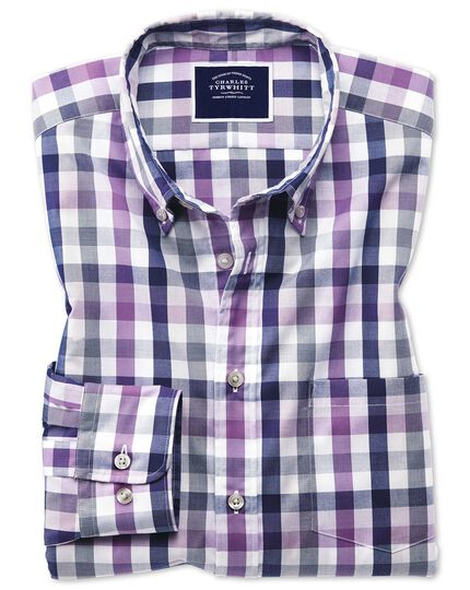 5-Pack Charles Tyrwhitt Men's Casual Shirts in several styles