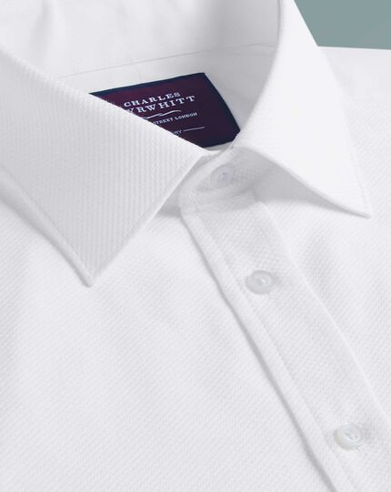 Classic fit luxury marcella bib front white dinner shirt