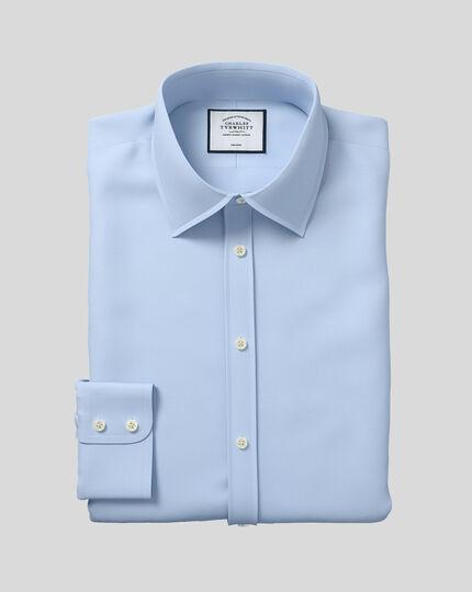 Classic Collar Non-Iron Twill Shirt  - Sky