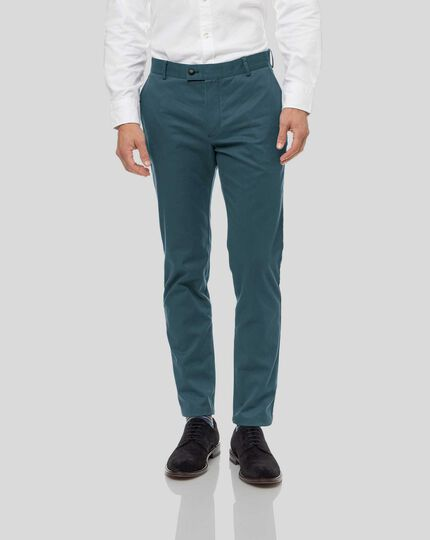 Ultimate Non-Iron Chinos - Teal