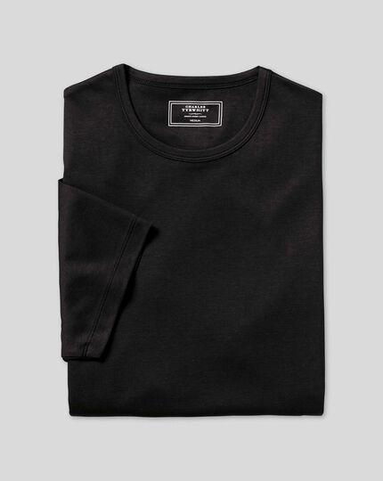 Smartes Tyrwhitt Jersey-T-Shirt - Schwarz