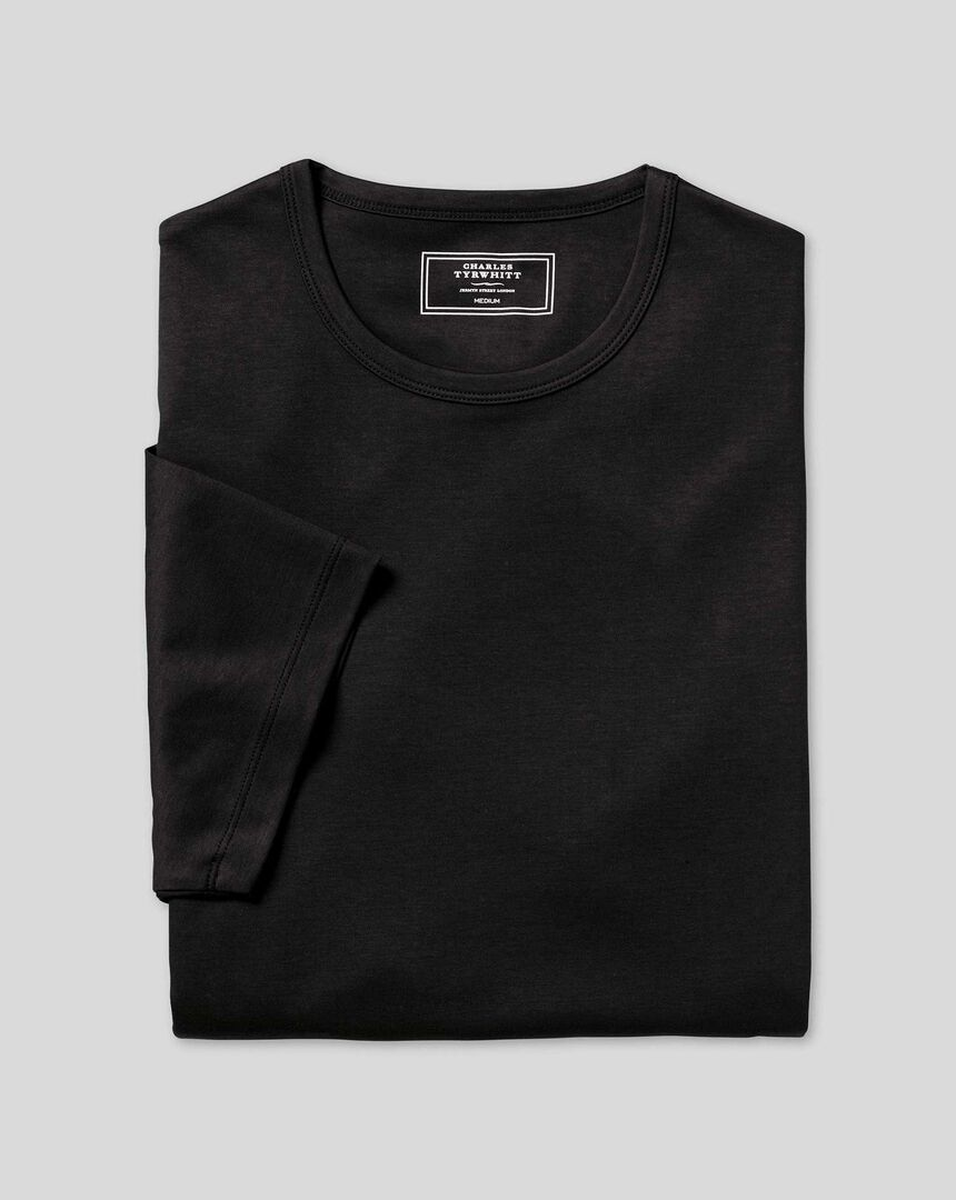 Smart Jersey Tyrwhitt T-shirt - Black