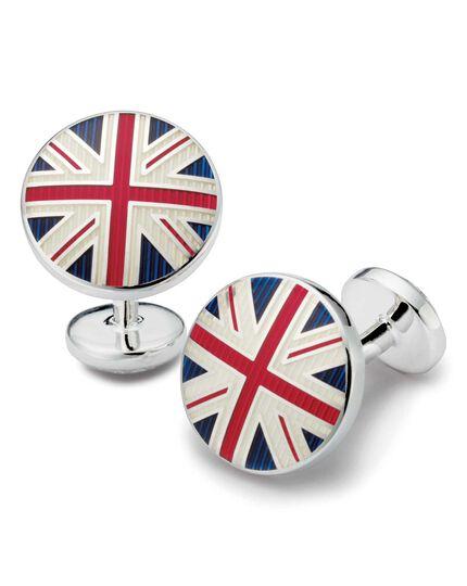 Boutons de manchette à drapeaux britanniques