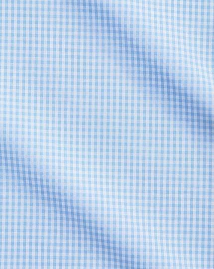 Chemise vichy bleu ciel slim fit