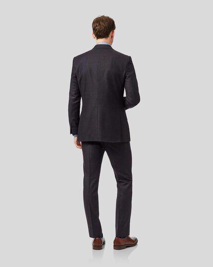 Top Drawer Italian Suit - Aubergine