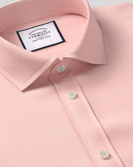 Cutaway Collar Stretch With TENCEL™ Shirt - Peach
