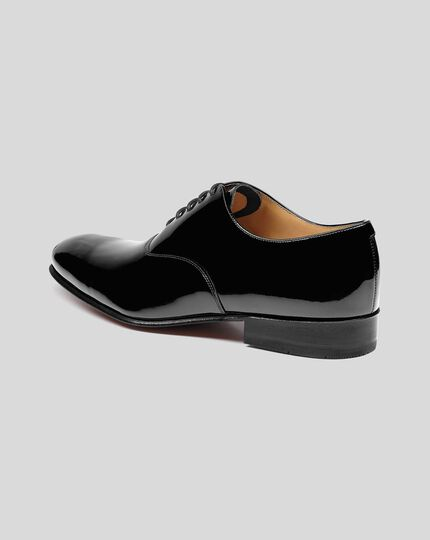 Patent Oxford Shoe - Black