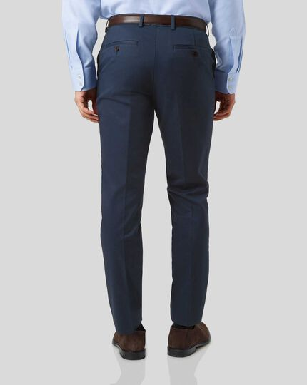 Smart Non-Iron Chinos - Navy