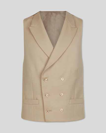 Morning Suit Vest - Buff