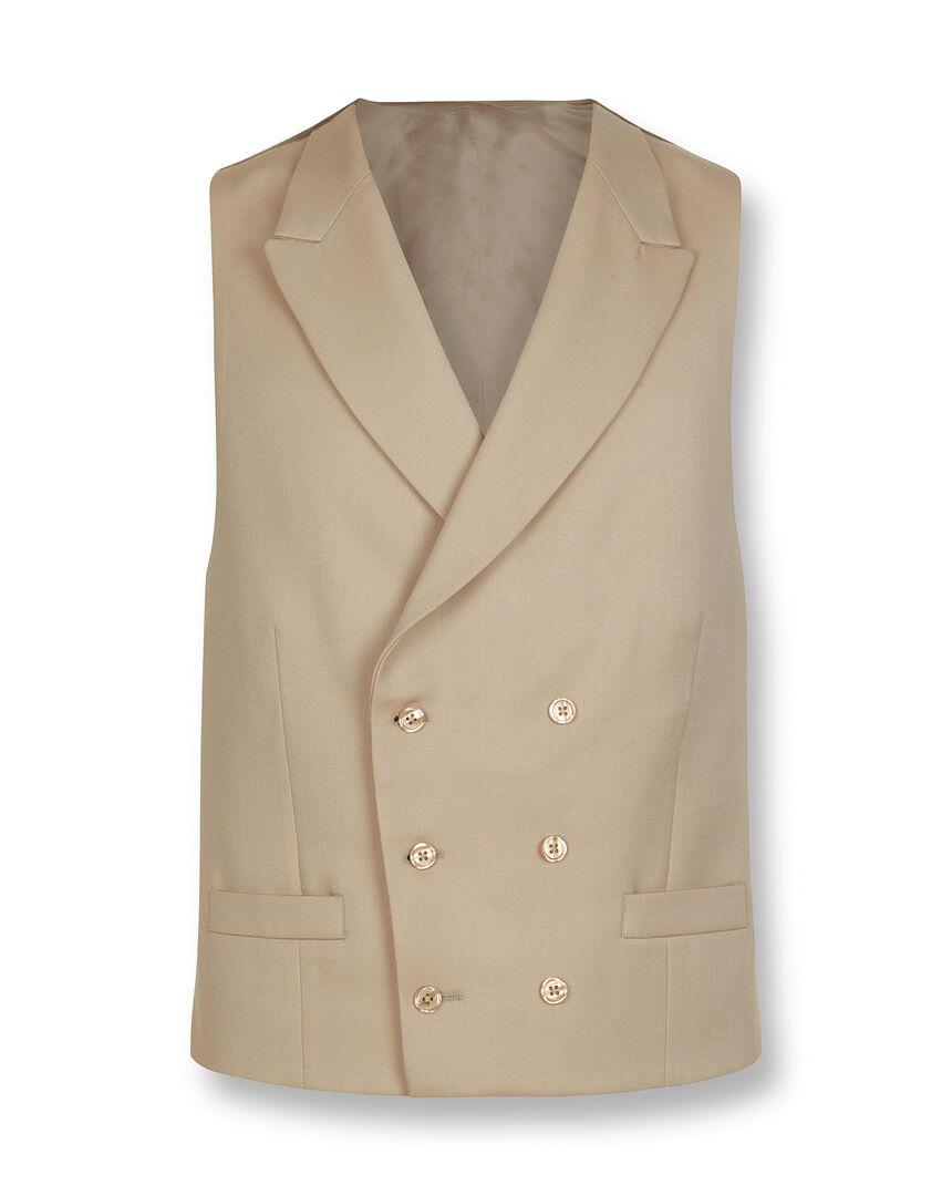 Morning Suit Vest - Buff