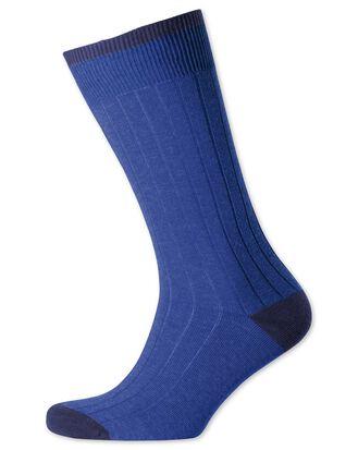 Royal cotton rib socks