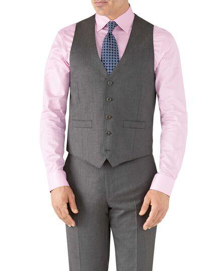 Grey adjustable fit Italian suit vest
