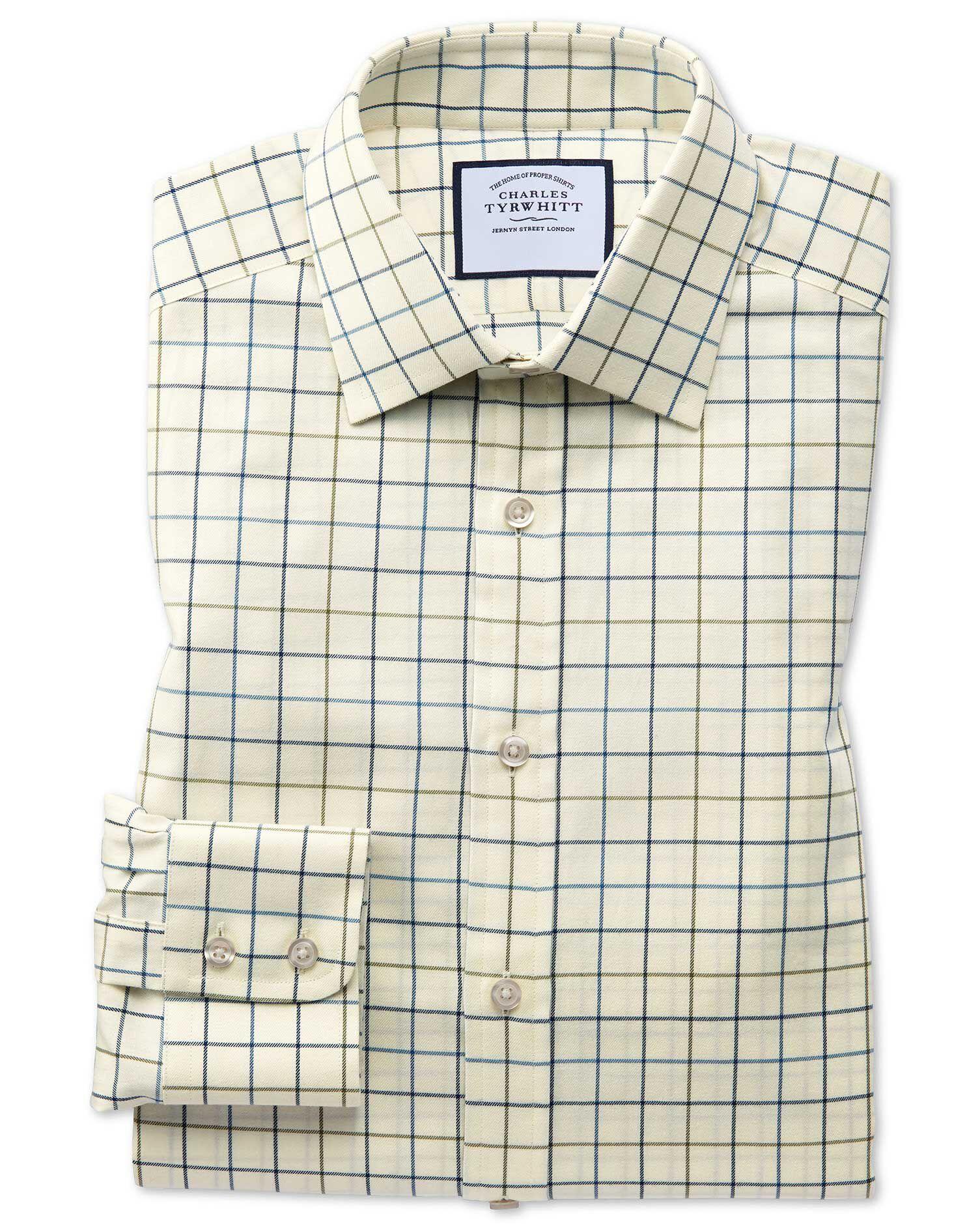 Check shirt Tattersall