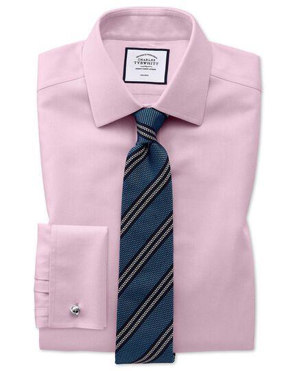 Sky bue silk stripe grenadine Italian luxury tie