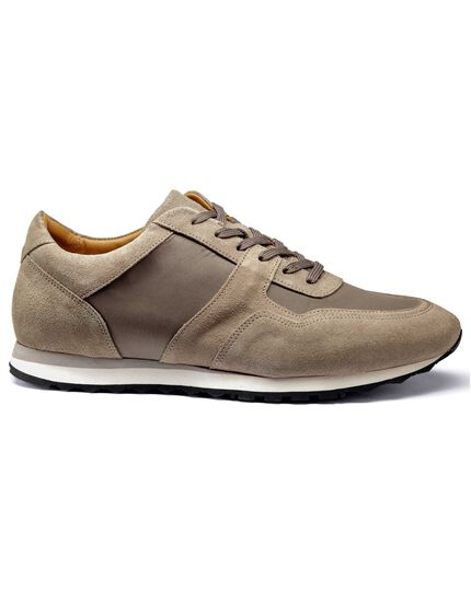 Light brown trainers