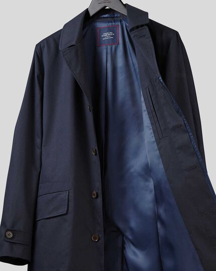 Italian Raincoat - Blue