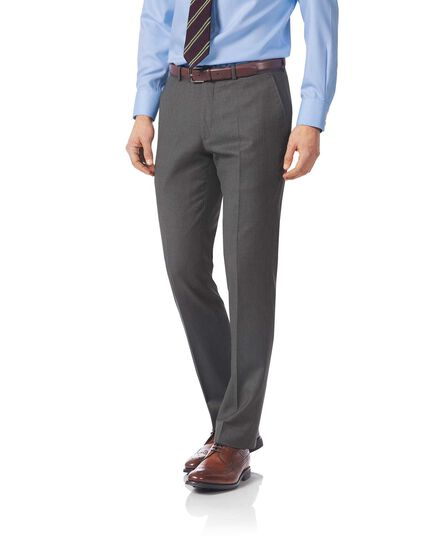 Grey slim fit Italian twill luxury suit