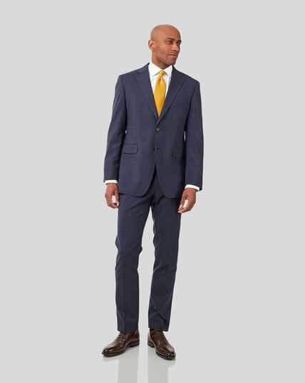 Semi-Plain Suit - Airforce Blue