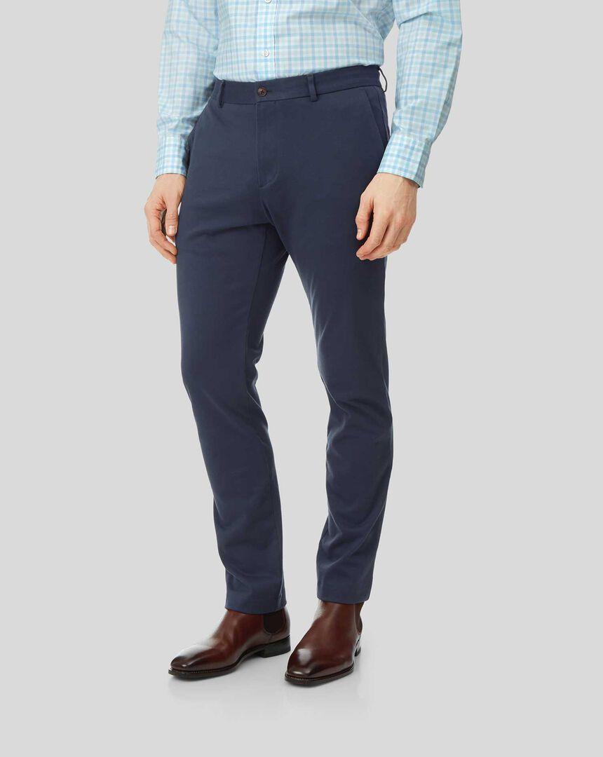 Travel Pants - Blue