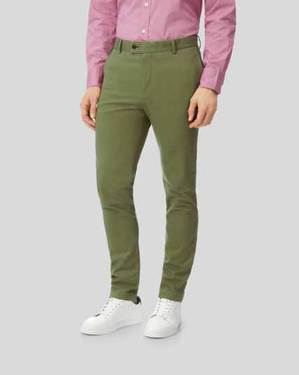 Ultimate Non-Iron Chino - Green