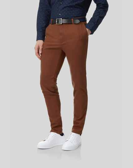 Ultimate Chinos - Dark Orange