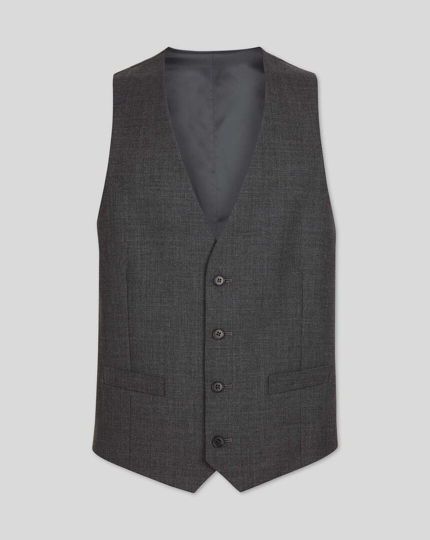 Gilet de costume business - Gris