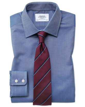 Classic fit Egyptian cotton royal Oxford royal blue shirt